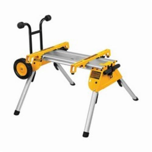 DeWALT DW7440RS Portable Rolling Table Saw Stand, Yellow