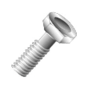 Cully 74624 Cap Screw, 1/2-13 Coarse x 1-1/2 in, Stainless Steel, 18-8
