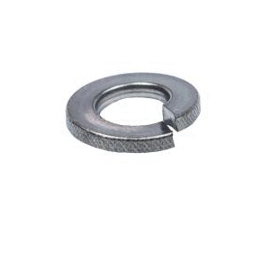 Cully 70535J Medium Split Lock Washer, 3/8 in, 0.385 in ID x 0.68 in OD, 0.094 in THK, Stainless Steel