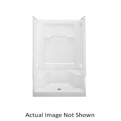 Sterling Advantage 6203 Seated Shower End Wall Set, 56 in, Vikrell