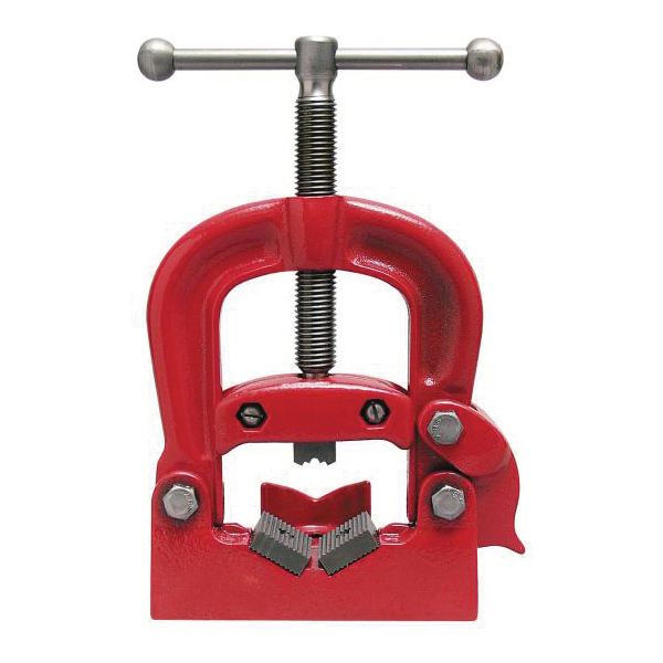 Reed 02430 Yoke Pipe Vise, 1/8 to 2-1/2 in