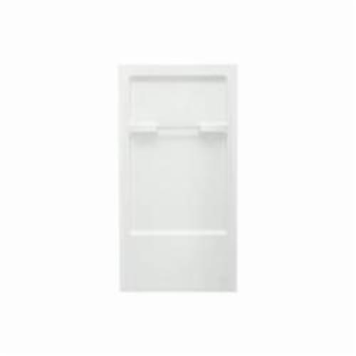 Sterling 6202 Advantage Shower Back Wall, 67 in L x 36 in W x 72 in H, Solid Vikrell, White