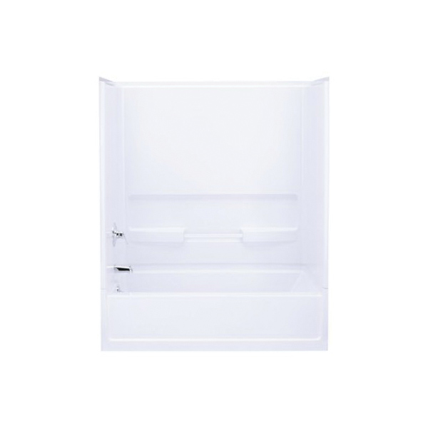 Sterling Advantage 6103 Bath/Shower Back Wall, 60 in x 56-1/4 in, Vikrell