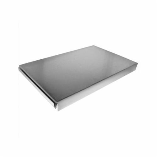 Southwark 211210 End Cap, 12 x 10 in, Hot Dipped Galvanized, Black, Steel, Domestic