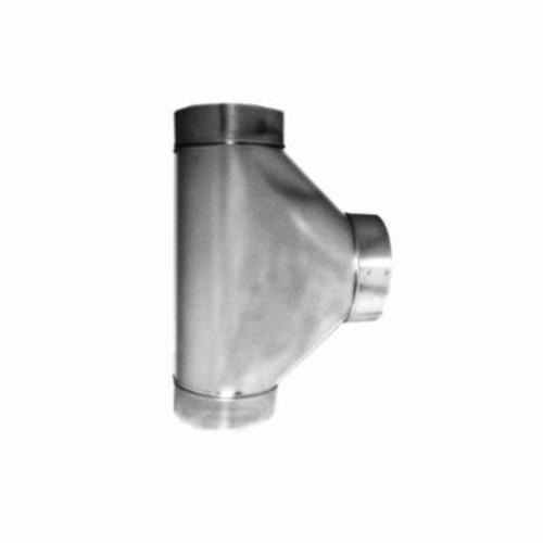 Southwark 10602614 90 deg Free Flow Tee, 14 in, Hot Dipped Galvanized, Silver, Steel, Domestic