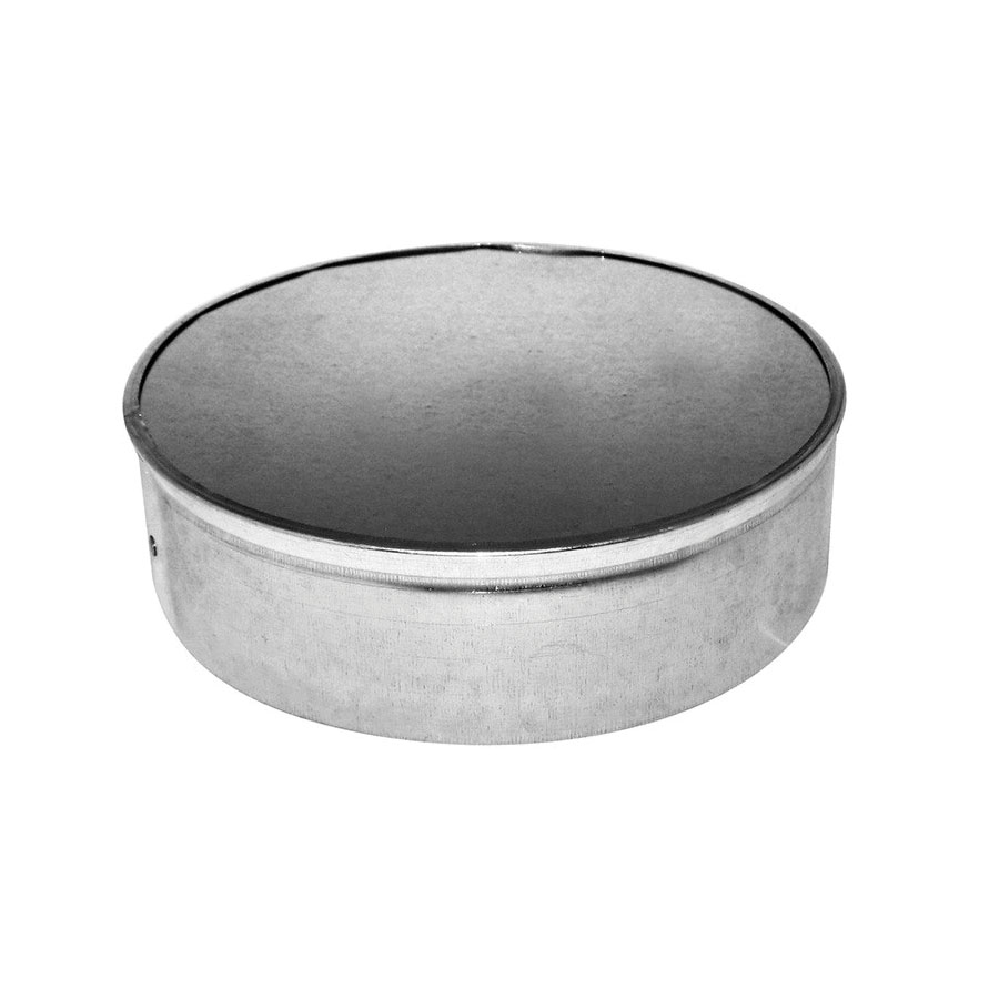 Southwark 5520NC No Crimp Round End Cap, 20 in, Hot Dipped Galvanized, Steel, Domestic
