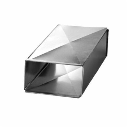 Southwark TD481210 Trunk Duct, 48 in Joint L x 12 in W x 10 in THK, Steel, Hot Dipped Galvanized, Domestic