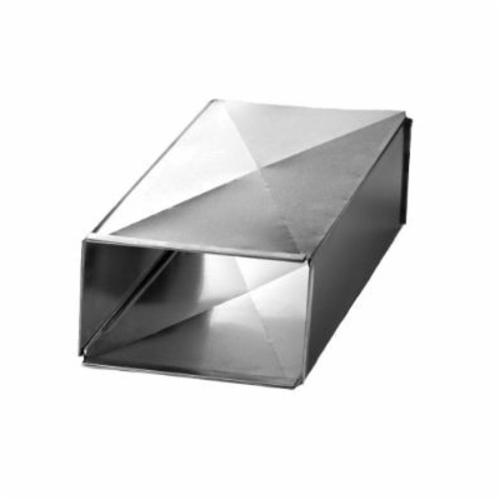 Southwark TD48128 Trunk Duct, 48 in Joint L x 12 in W x 8 in THK, Steel, Hot Dipped Galvanized, Domestic