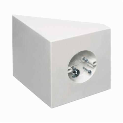 Arlington FB450 Fan/Fixture Ceiling Box Without Knockouts, Plastic, 14.5 cu-in