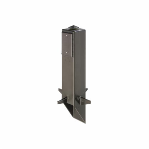 Arlington Gard-N-Post GP19B Low Profile Garden Post Support, 8.11 in L x 8.11 in W x 19.5 in H, Post Mount, 2 Outlets
