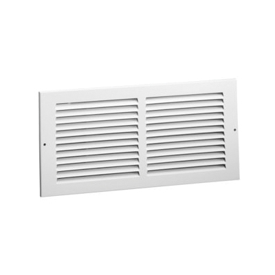 Hart Cooley 672 36 10 W Return Air Grille X In Steel Bright White Enamel