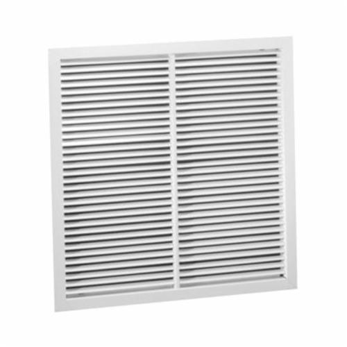 Hart Cooley 94at 22 W Lay In Return Air Grille X Steel Bright White Enamel