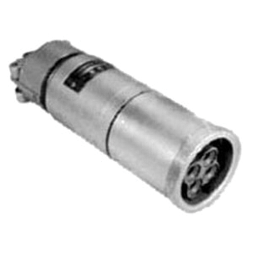 Appleton Powertite ARC1044CD 3-Phase Grounding Style 1 Weatherproof Pin and Sleeve Connector Body, 600/250 VAC/VDC, 100 A, 4 Poles