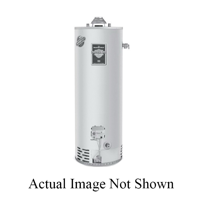 Bradford White Heat Pump Water Heater, Electric Mode, Series: AeroTherm, 50 gal Tank, 208/240 VAC, 30 A, 3500 W at 208 VAC/4500 W at 240 VAC, 1 ph
