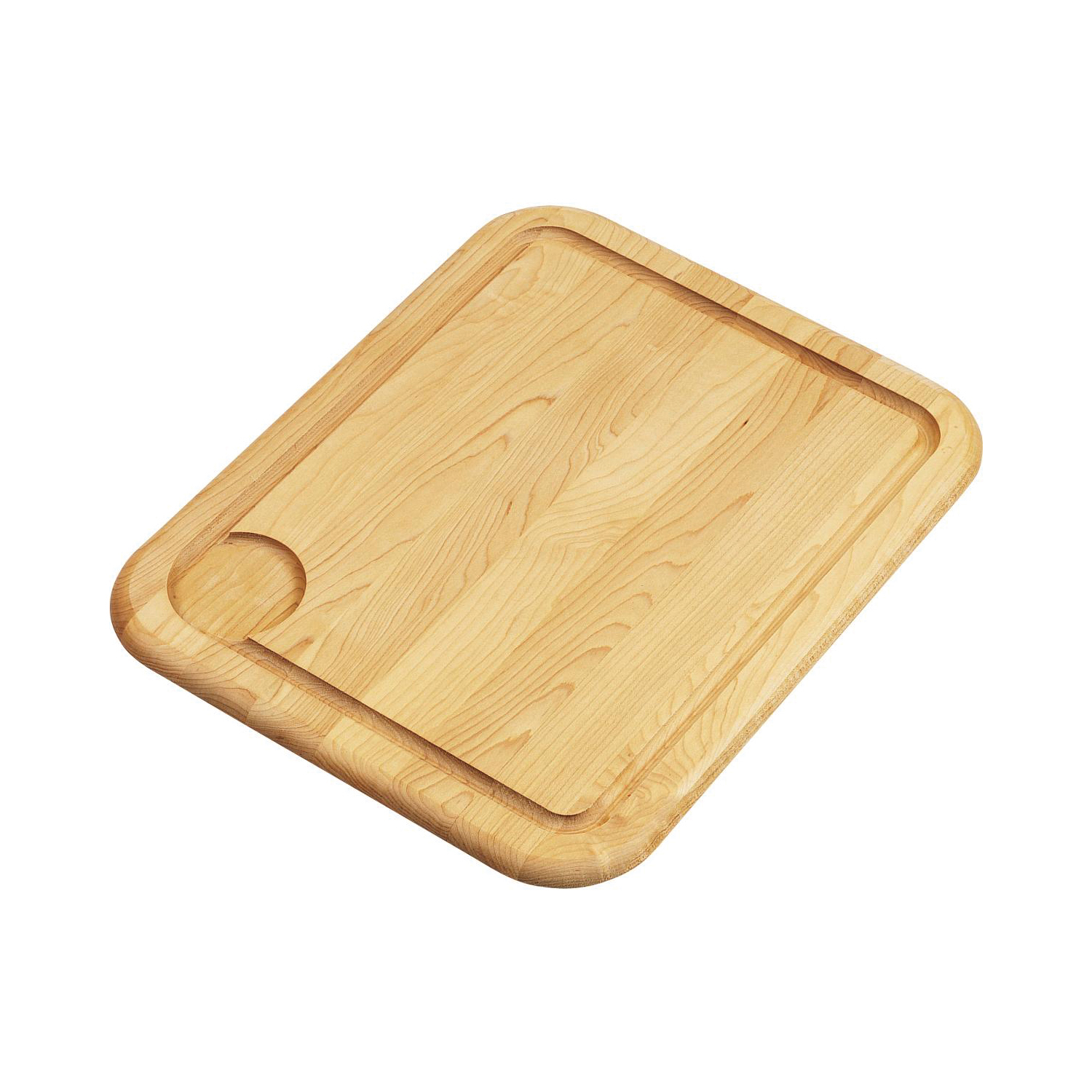 Elkay CB1713 Cutting Board, 13-1/2 in L x 17 in W x 1 in THK, Hardwood