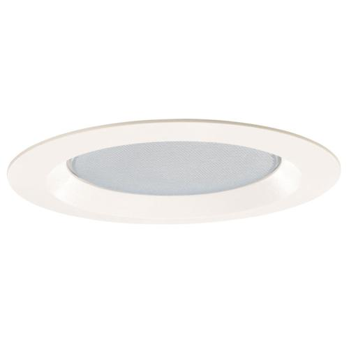 Juno 20 PW 20 Series Lensed Albalite Trim With Reflector and Torsion Springs, 8 in OD, Incandescent Lamp
