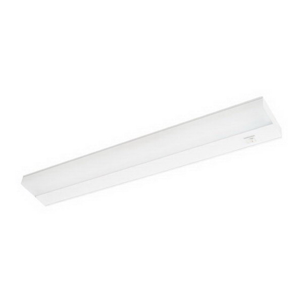 Elite Lighting EU-42-SW Fluorescent Undercabinet Fixture Polycarbonate Lens with UV Radiation Protection, 42 in, White