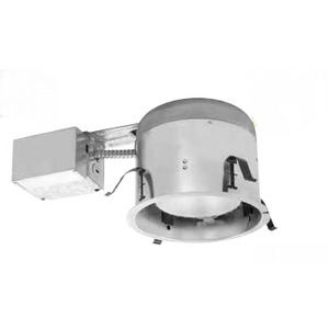 Elite Lighting B26RIC-AT-W Air-Shut Shallow Remodel Housing With Quick Connect, R/PAR30/A19/BR30 Incandescent Lamp