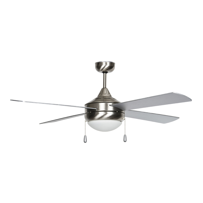 Concord Centurion CF52374-50-ES-LED 52-inch Ceiling Fan with LED Light Kit and Pull Chain Operation