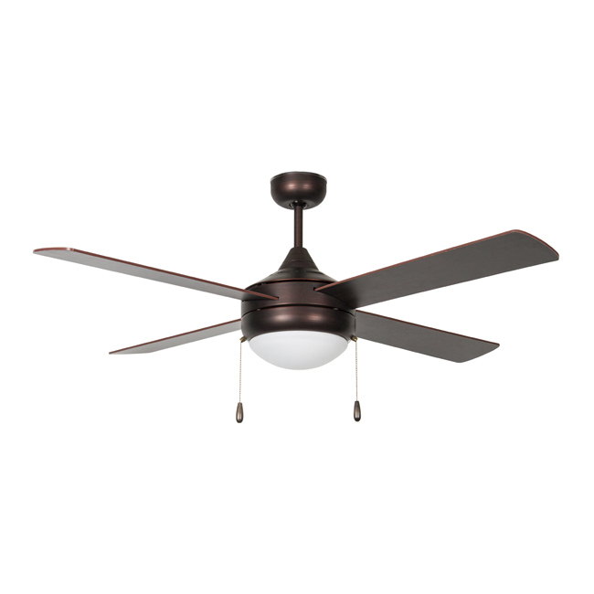 Concord Centurion 52CNT4ORB-ES-LED 52-inch Ceiling Fan, 4-Blades, LED, Oil Rubbed Bronze