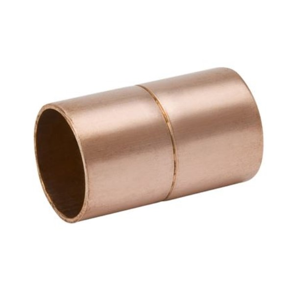 Streamline W 01028 Rolled Stop Coupling, 3/4 in, C, Wrought Copper