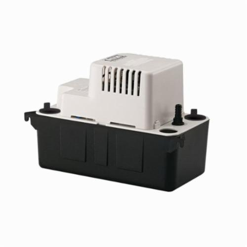 Little Giant 554405 VCMA-15ULS Automatic Condensate Removal Pump, 65 gph, 15 ft Shutoff Head, 60 W