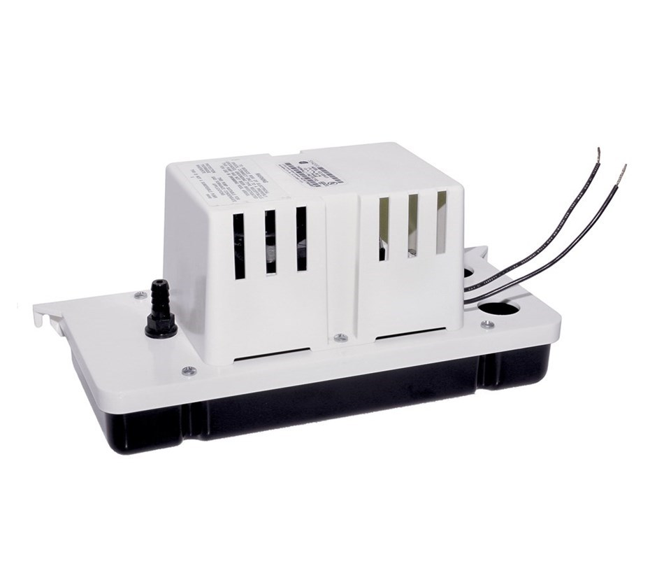 Little Giant 554200 VCC-20ULS Automatic Condensate Removal Pump, 80 gph, 20 ft Shutoff Head, 93 W