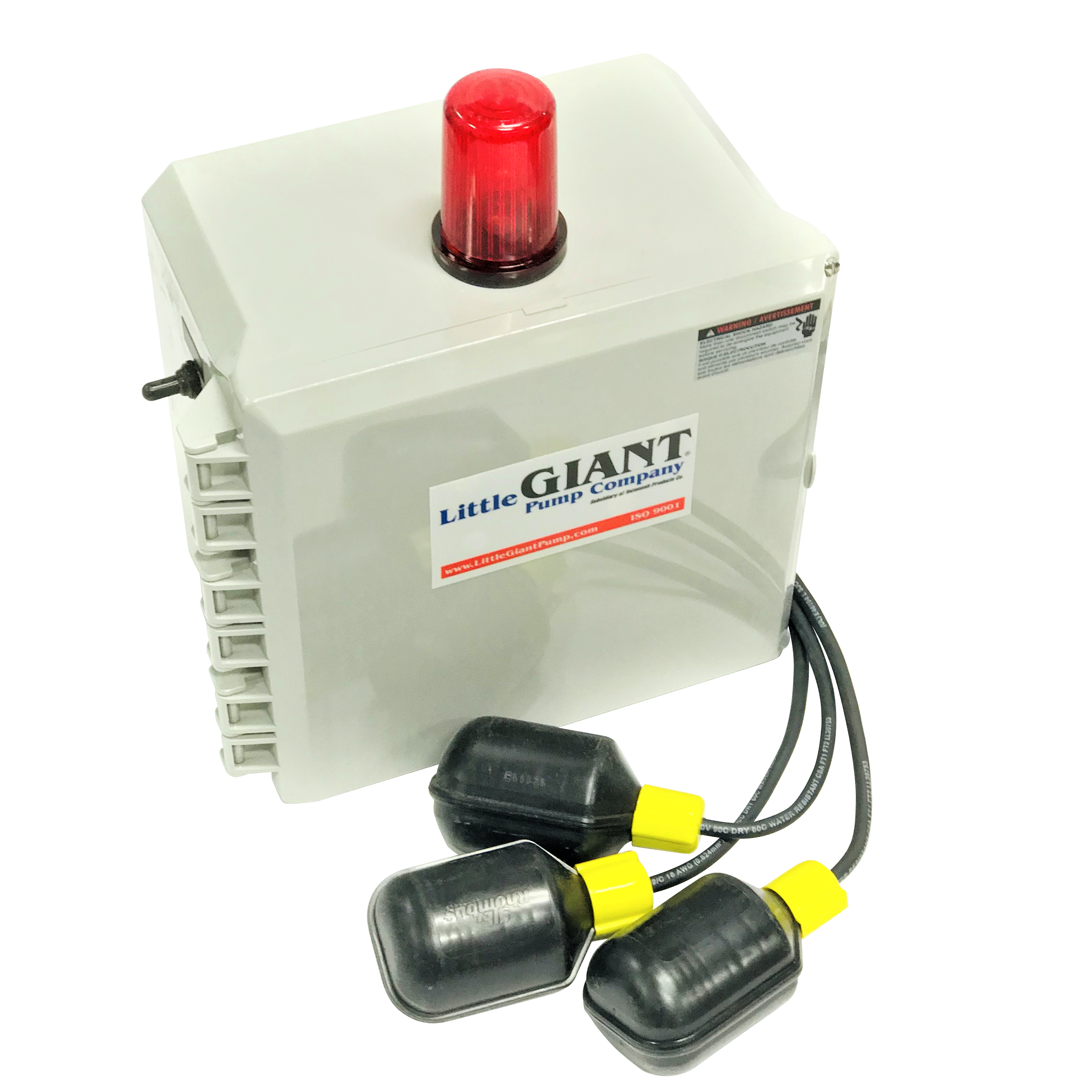 Little Giant 513258 Single Phase Indoor/Outdoor Duplex Alarm System and Pump Control