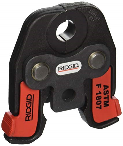 Ridgid 22973 Compact Series 1-inch ASTM F 1807 Jaws (For PEX Tubing)