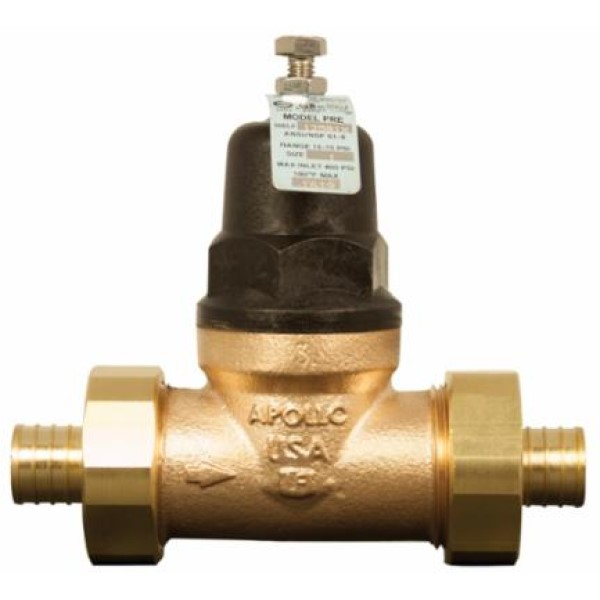 Apollo 34BLF214X Dual Master Thermostatic Mixing Valve, '3/4, PEX, 150 psig, 1.5 gpm, Bronze Body