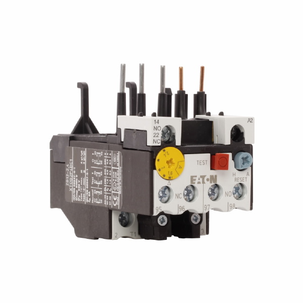 XT Bimetallic Thermal Overload Relay, 1.6 to 2.4 A, 1NO-1NC Contact Form