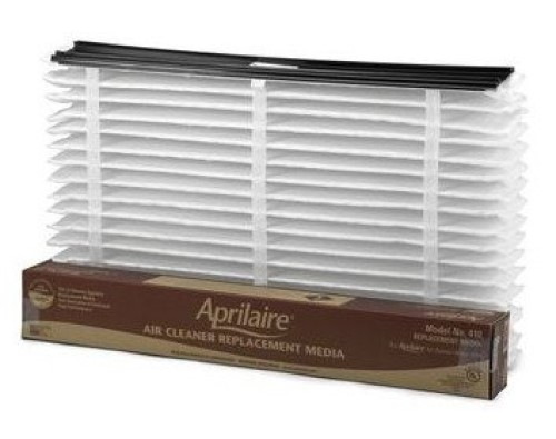 Aprilaire 410 Air Cleaner Replacement Filter, 16 in W x 27 in D x 6 in H, MERV: 11