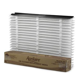 Aprilaire 210 Air Cleaner Replacement Filter, 20 in W x 25 in D x 3-1/2 in H, MERV: 11