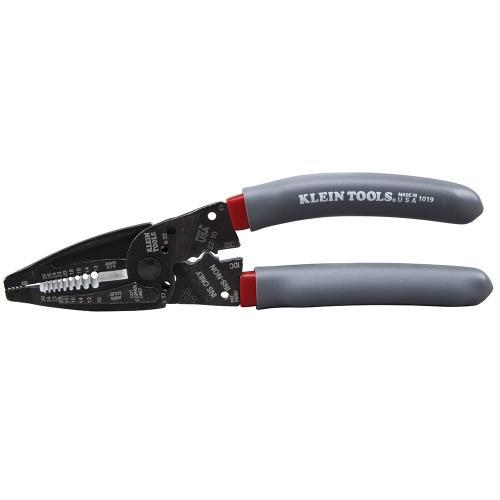 Klein Klein-Kurve 1019 Double Dipped Wire Stripper/Crimper Multi-Tool, 4 Functions, Steel Jaw