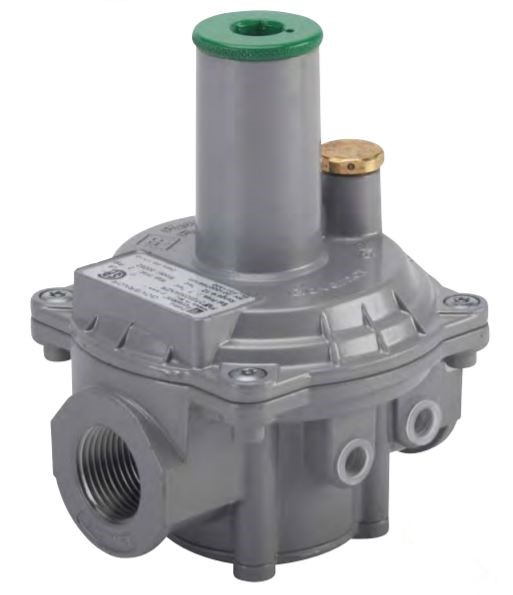 FlashShield 30051-NG Pietro Fiorentini Governor/Line Pressure Regulator, 1/2 in Pipe, 386 to 928 cfh, 635 MBtu