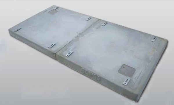 Generac 10000005771 GenPad Composite Cement Pad for Generac Liquid-Cooled Protector Series Generators 22-30kW and 32-60kW