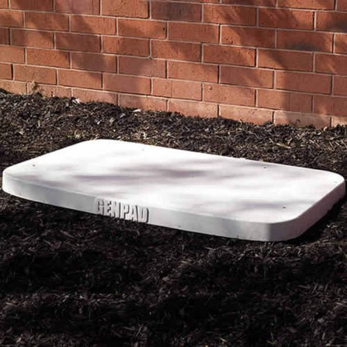 Generac 10000007852 GenPad 3-in Composite Cement Pad for Guardian Series Air-Cooled Generators 9-22kW