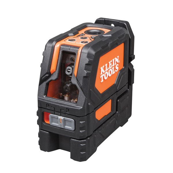 Klein 93LCLS Self-Leveling Cross-Line Laser Level with Plumb Spot, 65 ft