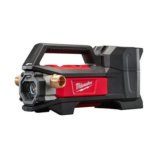 Milwaukee M18 Transfer Pump, 7.5 gpm at 1 ft of Head, 3/4 in Inlet x 3/4 in Outlet, 0.25 hp