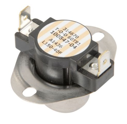 Allied 20W36 Limit Control, SPST, 150 deg F Close