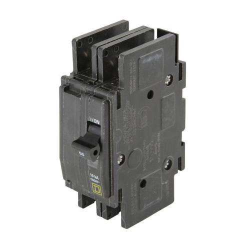 Allied 41K12 Circuit Breaker Switch, 120/240 V, 50 A, 2 Poles