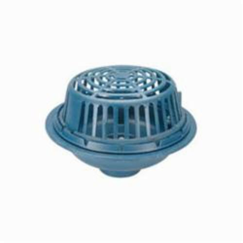 Products | Zurn Z100-4NH-L/DOME Roof Drain, 4 in, 15 in Dia x 4-11