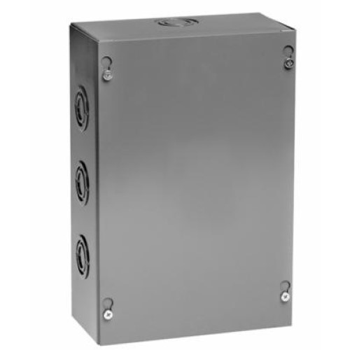 Unity Manufacturing 886SCNK Screw Cover Junction and Pull Box, No Knockouts, 8 in x 8 in x 6 in