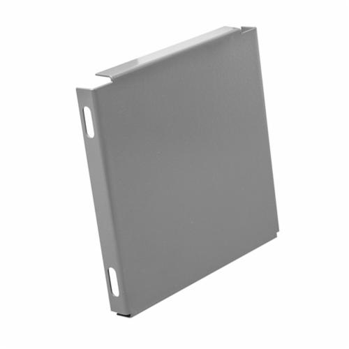 Unity 1010E End Cap, 10 x 10 in, For Use With Lay-In Wireway, Steel, Gray
