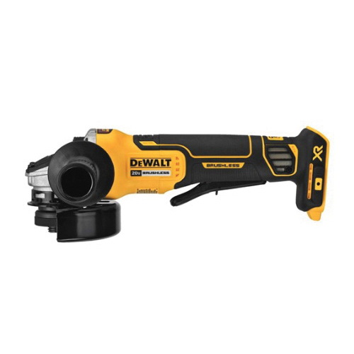 DeWalt DCG413B Small Cordless Angle Grinder With Kickback Brake, 4-1/2 in Dia Wheel, 20 VDC, Lithium-Ion Battery, Paddle Switch