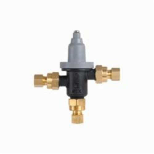 Bradley Navigator S59-4000A Adjustable Thermostatic Mixing Valve, 3/8 in, Compression, 125 psi, 0.35 to 6.5 gpm