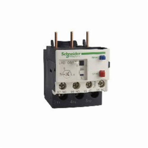 Schneider Electric TeSys LRD08 D-Line Thermal Overload Relay, 2.5 to 4 A, 1NO-1NC Contact Form
