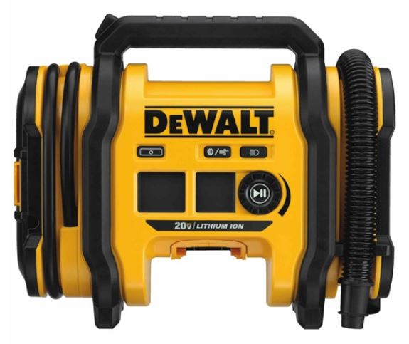 Dewalt DCC020IB 20V Max Corded/Cordless Air Inflator, Tool Only