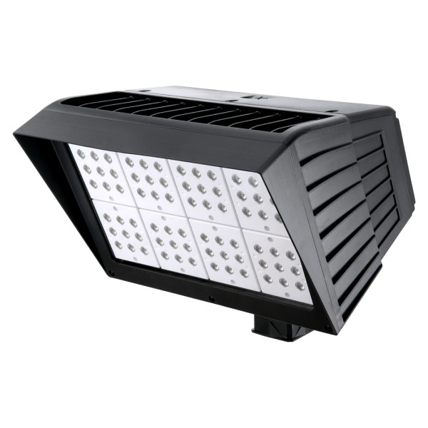 Atlas PFXL2G300LEDS Standard 400W Second Generation Optic Flood Light w/Slipfitter, Replaces up to 1000W MH