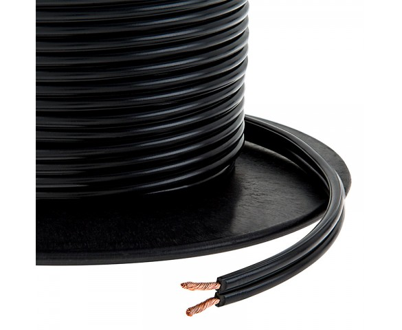 Priority Wire & Cable LVL-14-500 Low Voltage 14/2 Landscape Lighting Cable, 500 ft